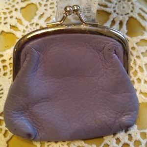 Express Vintage Lavender Change Purse